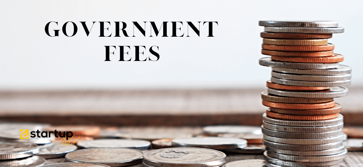 What are the trademark registration govt fees